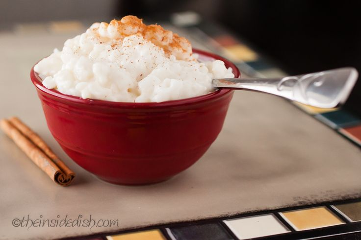how to make rice pudding with leftover rice