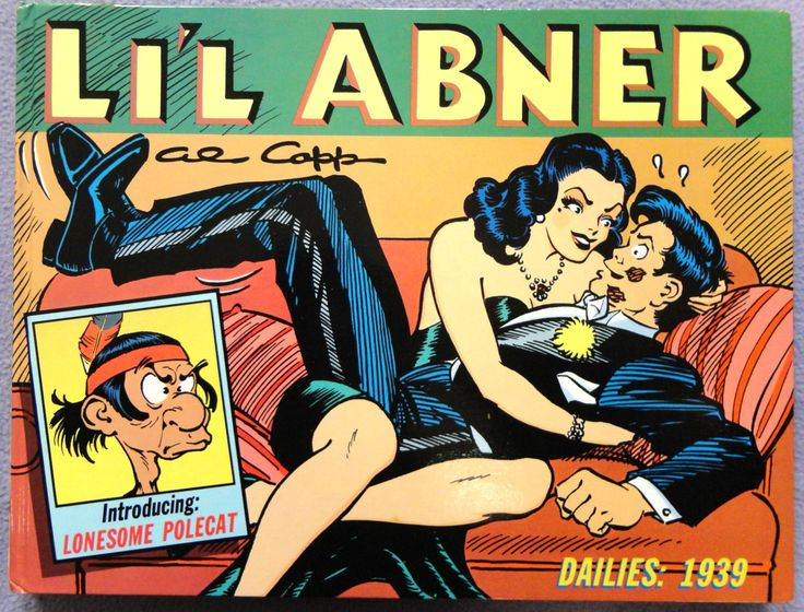 Al Capp L'IL ABNER #5 1939 Kickapoo Joy Juice Sadie Hawkins Day Hardcover Kitchen Sink Newspaper Daily Comic Strips