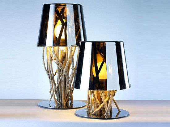 Необычные настольные лампы