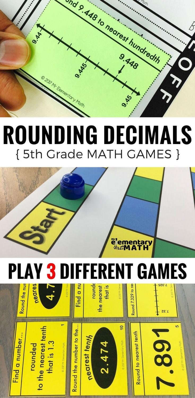 Best 25 rounding decimals worksheet ideas on pinterest rounding 5th grade rounding decimals games and centers robcynllc Choice Image