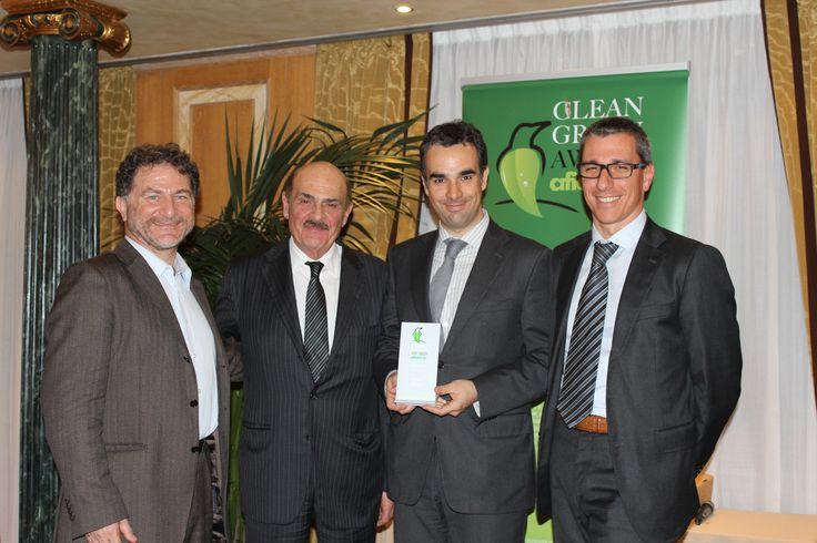 Clean Green Award 2014 - Afidamp Il momento della premiazione