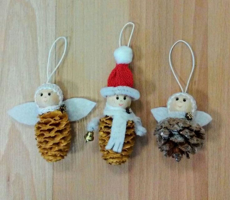 Karácsonyfadísz-termésangyalkák és manó  (Cs.T.)