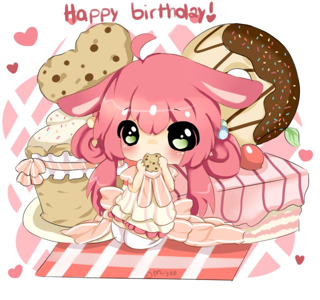 HAPPY BIRTHDAY PASTELU!!! by Miyee.deviantart.com on ...
