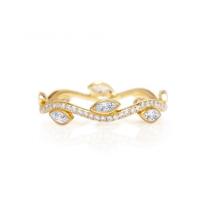 De Beers Adonis Rose Band Honouring nature's most elegant bloom the Adonis Rose collection is enriched with flourishing drama. Inspired by Aphrodite's love for her Adonis, this unique band is carefully crafted in yellow gold and bezel set with marquise diamonds and pavé round brilliant diamonds.
