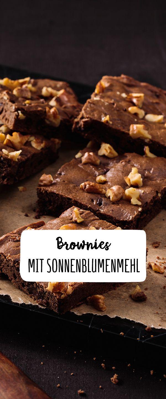 Brownies Mit Sonnenblumenmehl Rezept In 2019 Backen Ist Liebe