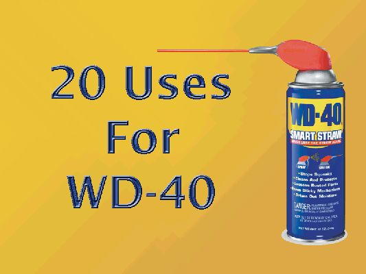 23 best home safety and security images on pinterest for Wd40 fish oil