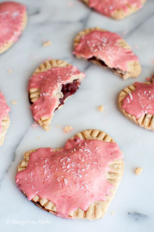 Gluten Free Vegan Strawberry Pop Tarts - Allergy Free Alaska