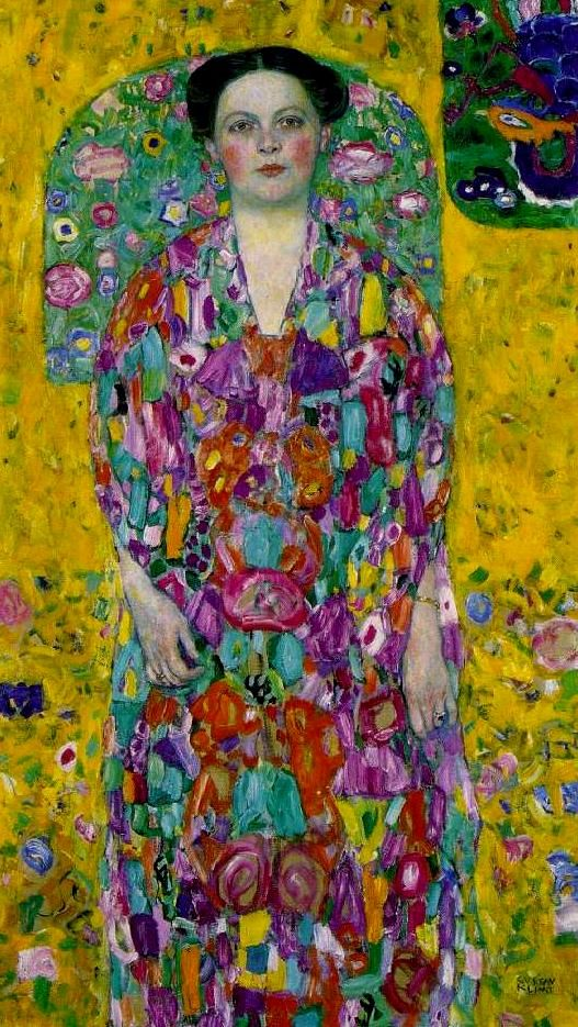 Gustav Klimt, Bildnis Eugenia Primavesi, 1913