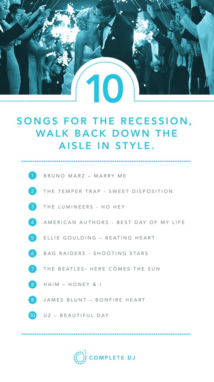 Best 25+ Wedding Recessional Songs ideas on Pinterest ...