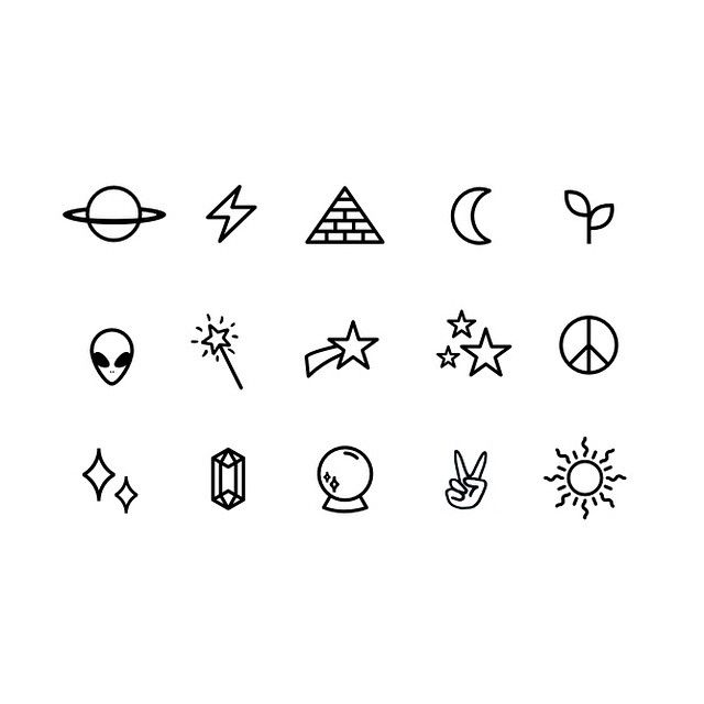 little symboly thingies