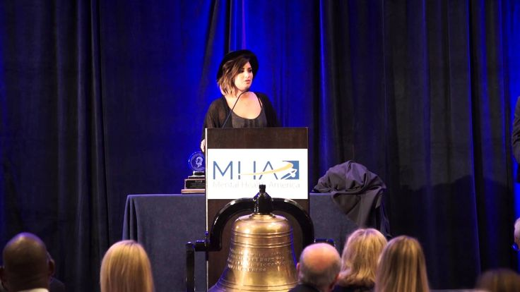 Demi Lovato joins Mental Health America (MHA) at the Annual Clifford W. Beers Award Dinner to communicate the importance of telling your personal story and coming together as a unified voice for mental health in America.