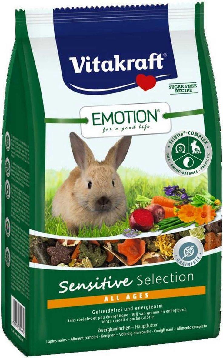 Корм для кроликов SENSITIVE SELECTION 600 г