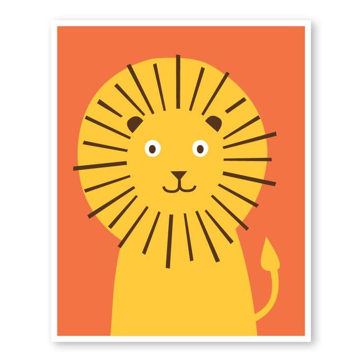 Animal Nursery Art, Lion Nursery Art, Kids Wall Decor, Lion Print, Modern Nursery Art Print, Safari Jungle Nursery Art, Kids Room Art by PuffPaperCo on Etsy https://www.etsy.com/listing/185274988/animal-nursery-art-lion-nursery-art-kids