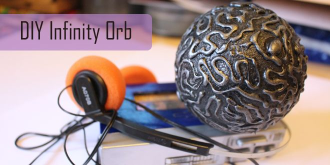 I needed Star-Lord's Orb for a cosplay and put together this tutorial for anyone who wants to have a go at making one themselves. #marvel #geek #DIY http://geekmom.com/2014/10/diy-infinity-orb/
