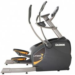 The new Octane LateralX elliptical is a complete reinvention of cross training and now it's available for you to purchase for your home.  The LateralX offers the option to move in multiple directions on one machine so you can get the most out of your home exercise equipment purchase.  You now have the ability to move up and down, forward and back and side to side, all on one machine.