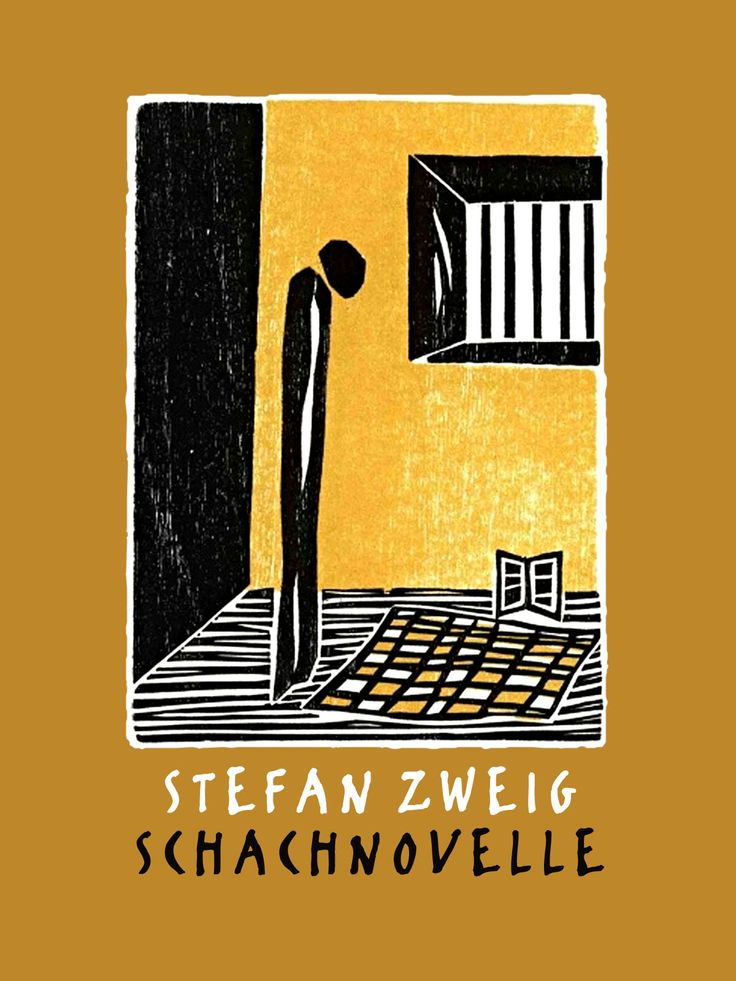 """""""Schachnovelle"""" (The Royal Game or Chess Story) by Stefan Zweig"""