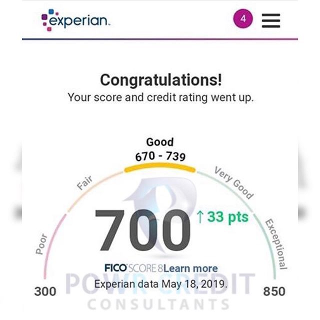 Credit Score Increase Of 33 Points Powrcredit What More Can I Say