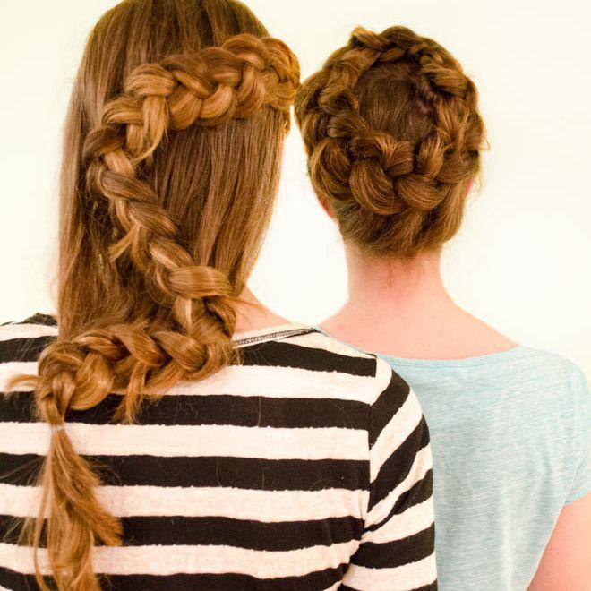 Two Dutch Braids - Boho/ Beach/ Summer hair styles