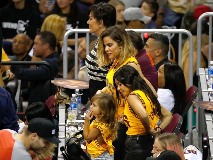 Khloé, Kourtney and Kris Cheer on Tristan Thompson and Cleveland Cavaliers at NBA Finals Game 4