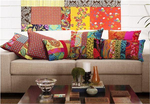 Decore sua casa usando almofadas | Casar é um barato