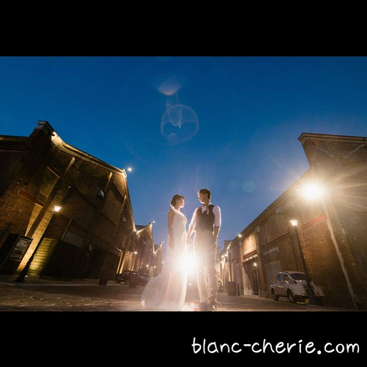 Night photo wedding
