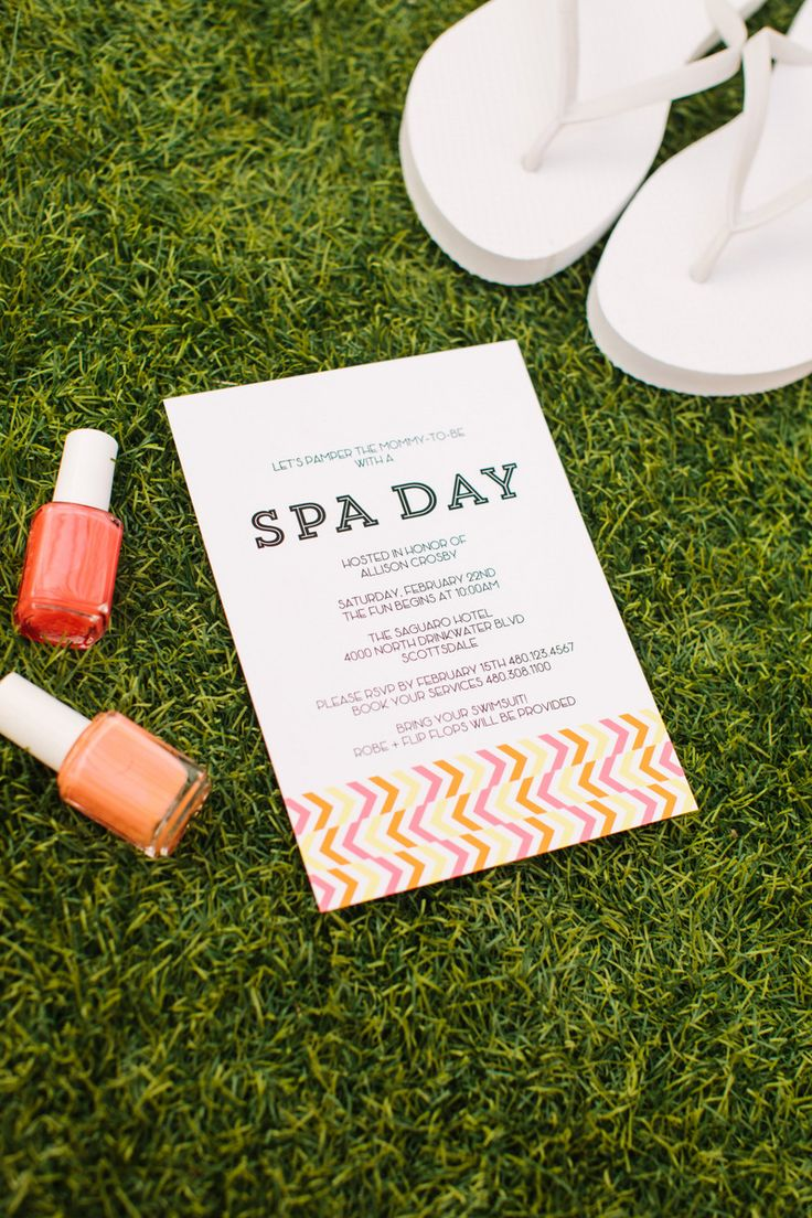 Birthday sale the tomkat studio blog - Free Printable Spa Day Invitation Designed By The Tomkat Studio Http Www