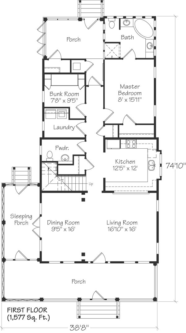 305 Best House Plans Images On Pinterest Small House