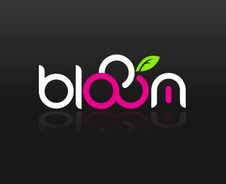 Logo for blooom - new media agency by blooom (via Creattica)