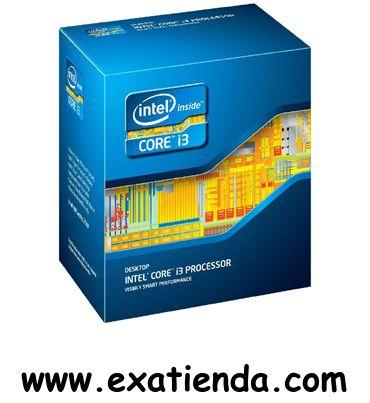 Ya disponible Cpu Intel s 1150 core i3    (por sólo 162.89 € IVA incluído):   -Socket soportado:FCLGA1150 -Cache:4MB -Numero de nucleos: 2 -Conjunto de instrucciones: 64-bit -Velocidad de Reloj: 3.6 GHz -Bus del Sistema:5 GT/s -Arquitectura:22 nm -Intel Graphics: Intel HD Graphics 4600 -Formato:BOX   Garantía de 24 meses.  http://www.exabyteinformatica.com/tienda/1305-cpu-intel-s-1150-core-i3-4340-3-6ghz-box #intel #exabyteinformatica