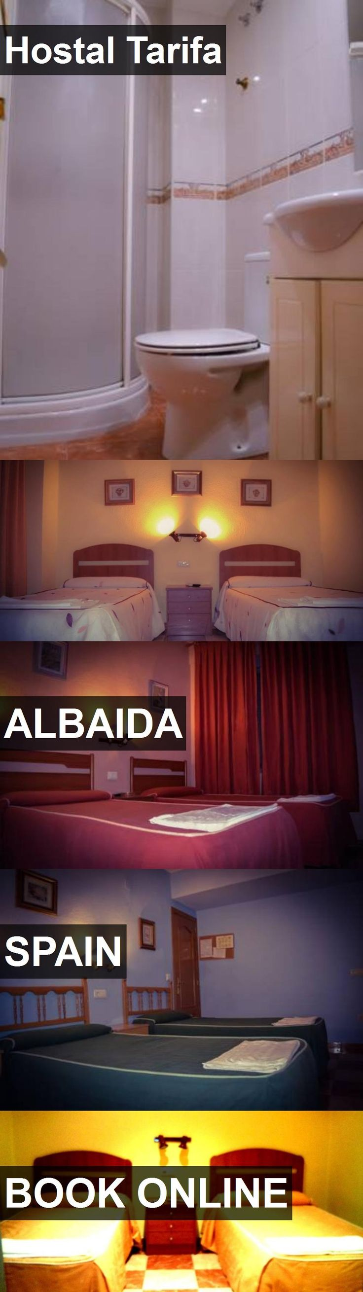 Hotel Hostal Tarifa in Albaida, Spain. For more information, photos, reviews and best prices please follow the link. #Spain #Albaida #travel #vacation #hotel