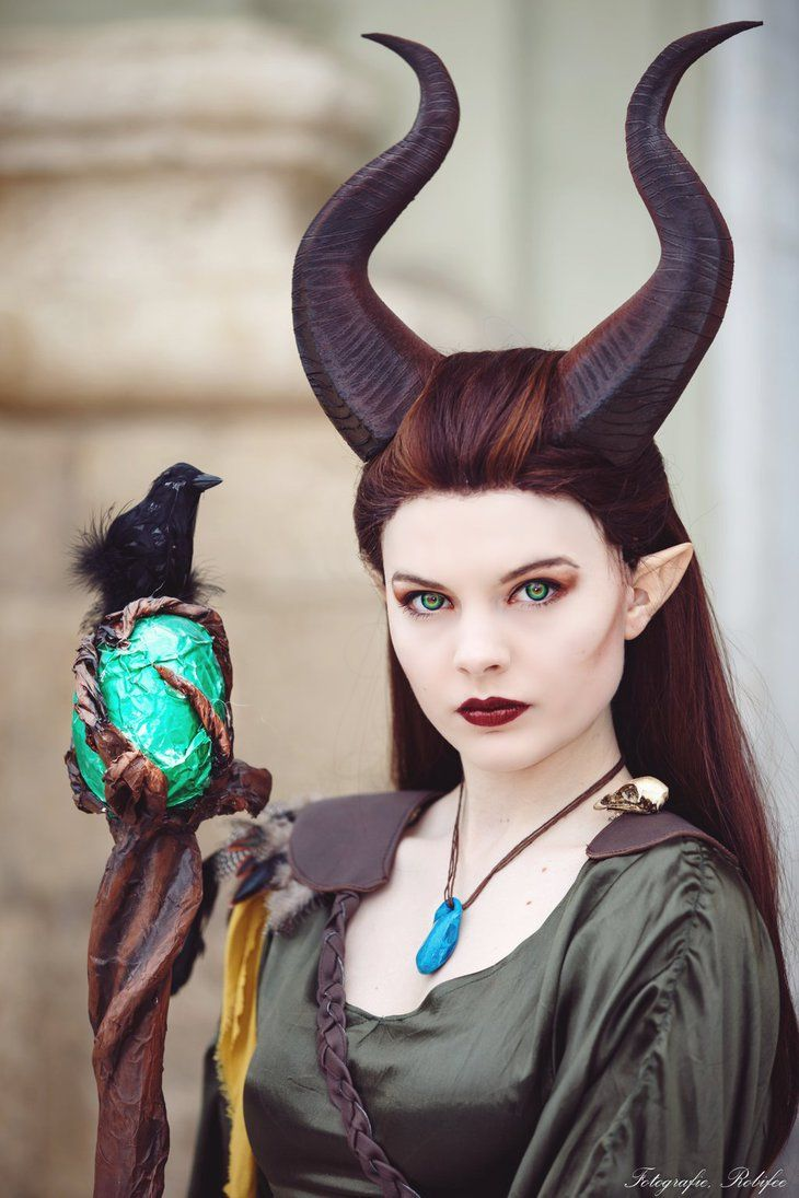 """hotcosplaychicks: """" The curse lasts til the end of time [Maleficent] by…"""