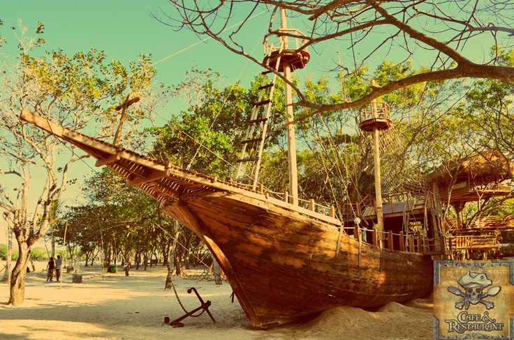 The Pirates Bay , Nusa Dua , Bali - Indonesia