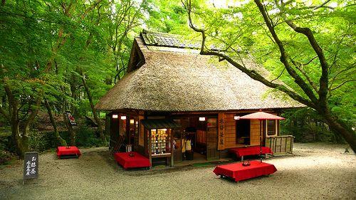 kasuga shrine tea house