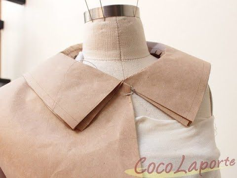 PatternMaking Tuto : How to draft a flat collar