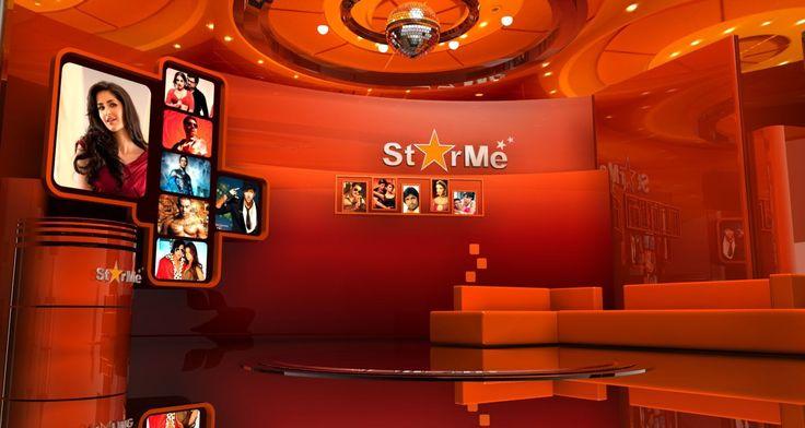 Virtual set design
