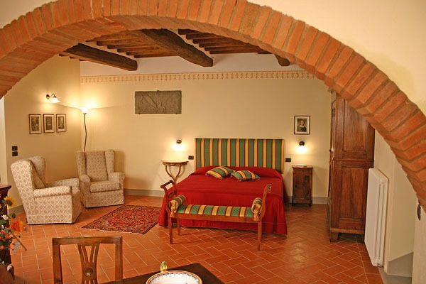Room in Cortona, Tuscany