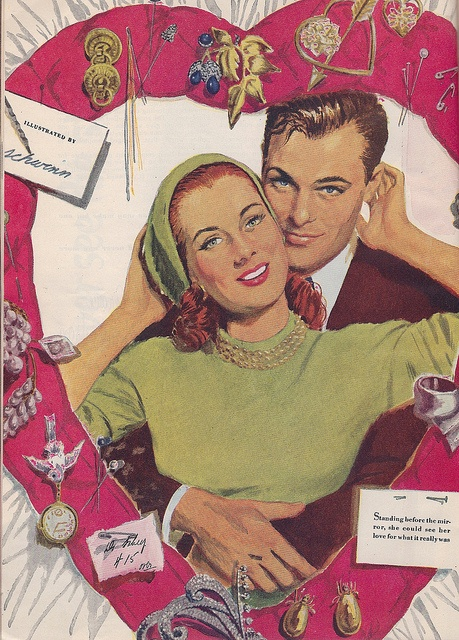 Image result for fifties valentine couples