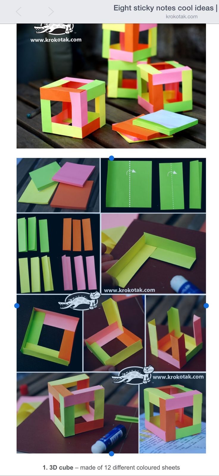 Top 25 best sticky note crafts ideas on pinterest cork for Sticky boards for crafts