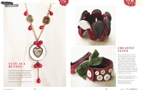 Stampington & Company - Jewelry Affaire Spring '10