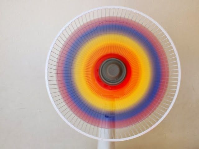 The Perfect DIY Cool Rainbow Fan - http://theperfectdiy.com/the-perfect-diy-cool-rainbow-fan/ #DIY, #HomeIdeaGardening