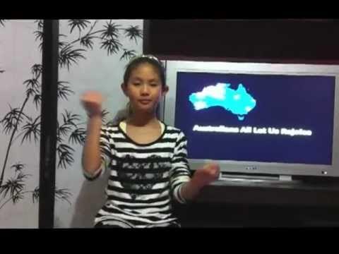 AUSLAN - Australian Anthem