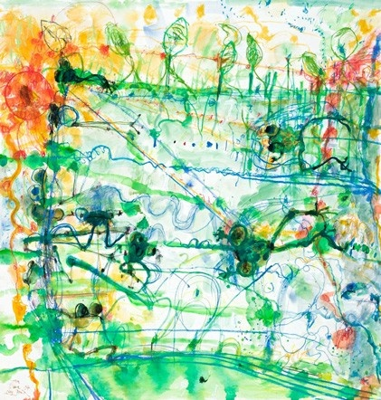 Just bought this! Frog Pond by John Olsen