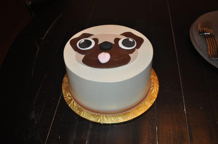 Best 20 Pug Birthday Cake Ideas On Pinterest Unicorn