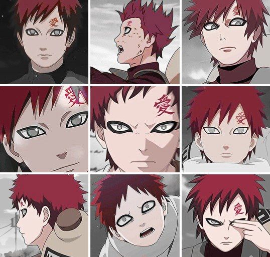 1355 Best Images About Gaara On Pinterest
