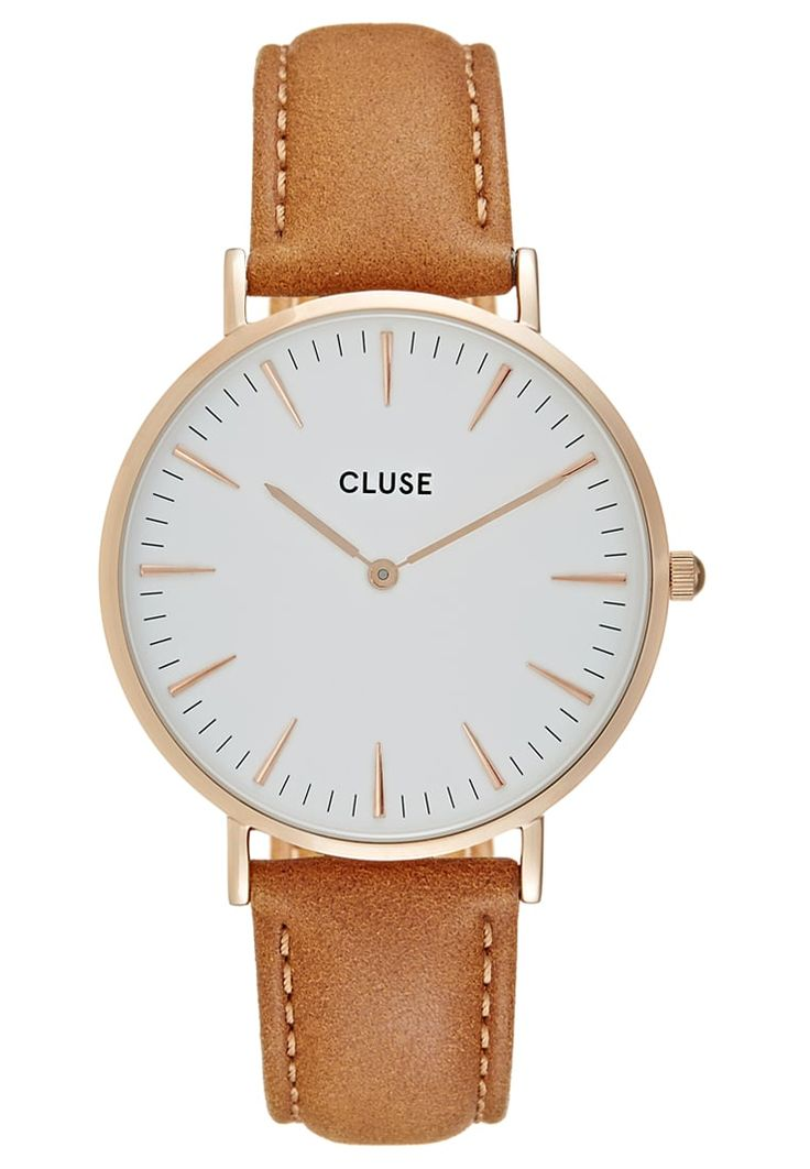 Cluse LA BOHÈME - Montre - rose gold-coloured/white/caramel - ZALANDO.FR
