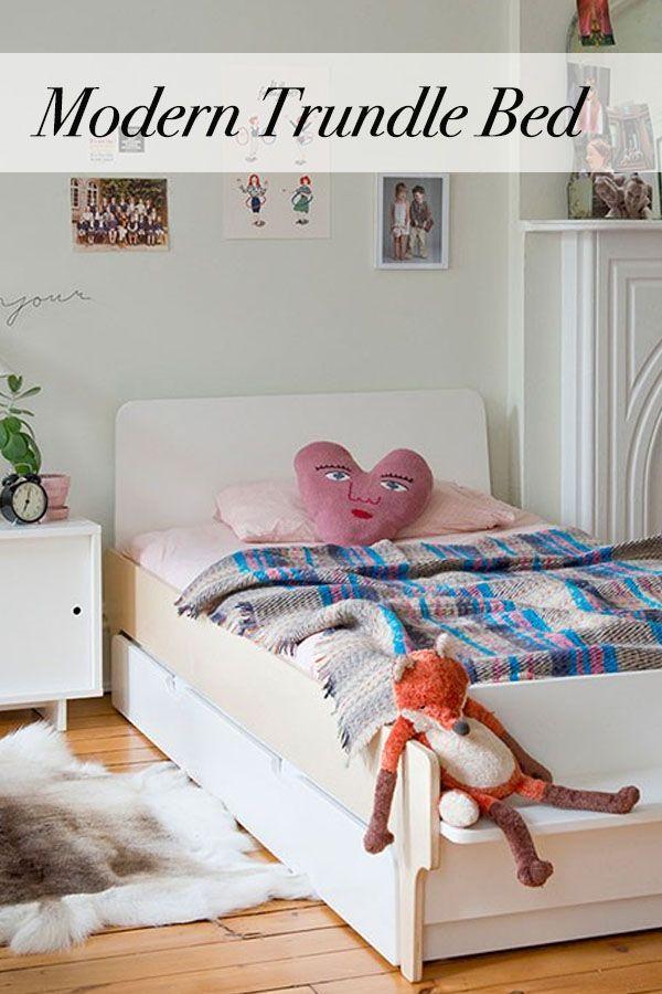 River Twin Bed Modern Kids Bedroom Furniture Modern Kids