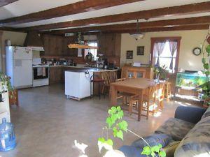 Danville, maison de campagne (fermette)  à louer Drummondville 750$