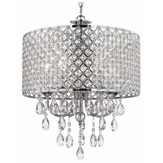 30 best small crystal chandeliers images on pinterest crystal amazing crystal chrome chandelier pendant light with crystal beaded drum chandelier crystal pendants mozeypictures Image collections