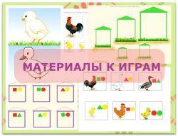 """""""Один день - одна игра"""" - домашние птицы."""