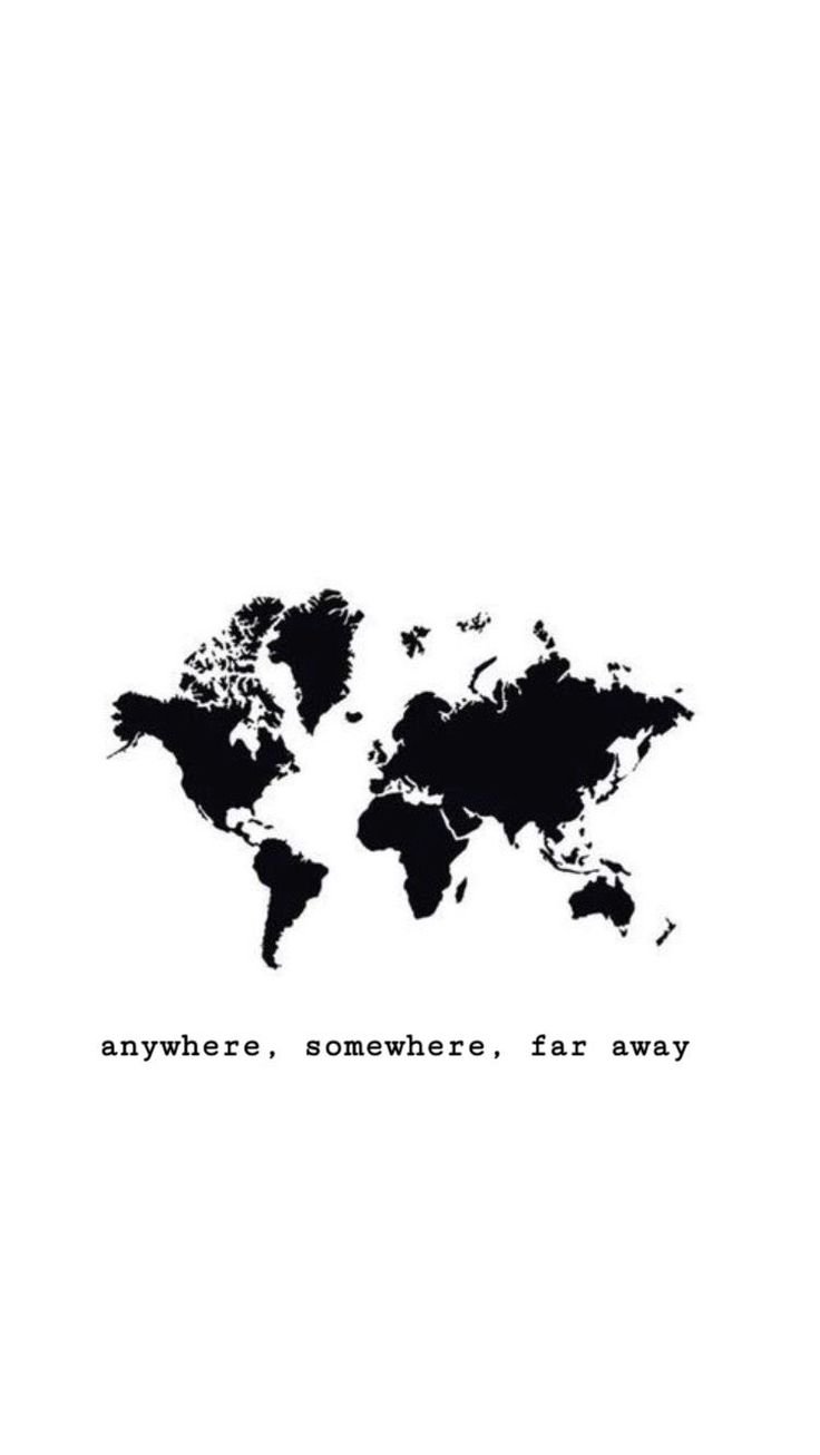 Where do I want to go? Anywhere. Somewhere. Far aw…